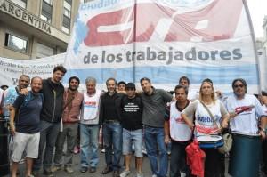 La CTA Ciudad  estuvo presente en la plaza de mayo este 24 de marzo
